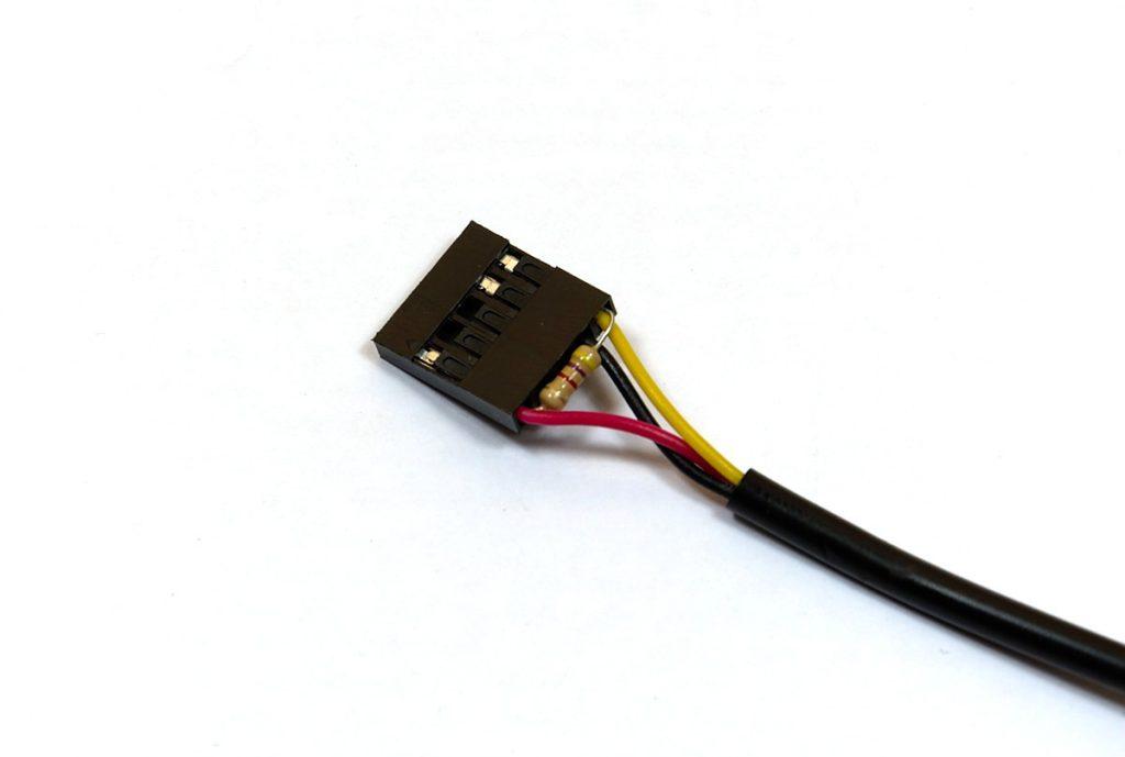 Wtyczka z BLS z czujnikiem DS18B20